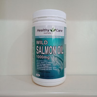 Healthy Care Wild Salmon Oil 1000mg 500 Capsules
