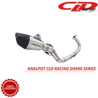 Knalpot Racing Motor CLD Racing Beat Vario Scoopy Type Shark Series