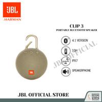 JBL Clip 3 Portable Bluetooth Speaker - Sand