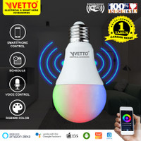 VETTO Smart Light Bulb 9W RGBWW - Wifi Wireless IoT Home Automation