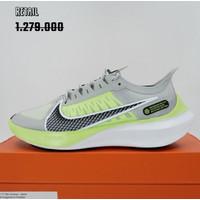 Sepatu Running Nike Zoom Gravity Grey Fog Volt BQ3202-011 Ori