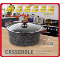 Moegen Germany Casserole / Stock Pot 28cm Granite Series