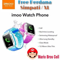 Jam Tangan Imoo Y1 Watch Phone /Waterproof/GPS/Original 100% - Biru - Ungu