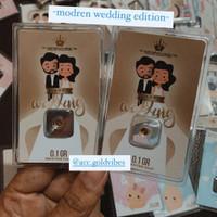 """ACC Hartadinata LM Gift Edition Modern Wedding"""" 0,1Gr / 0,1 gram"""