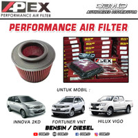 Filter Udara Racing Apex Innova Fortuner Hilux Everest sp Ferrox JFC