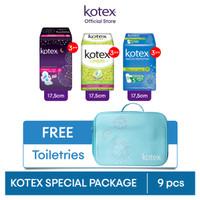 Special Package Kotex FREE Toiletries