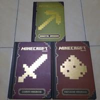 buku anak minecraft essential-combat-redstone handbook bs pilih judul