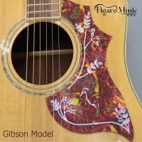 Pickguard Gitar Akustik / Acoustic Guitar Pickguard Model Gibson