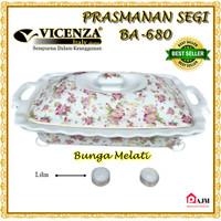 Vicenza Rectangular Food Warmer BA680 Prasmanan Penghangat