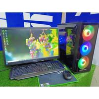 PC GAMING intel Core i 7 VGA 4 GB Monitor 22 Full set