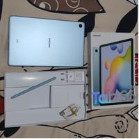 Samsung Galaxy Tab S6 Lite 4GB/64GB Blue Second SEIN layar retak