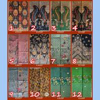 Kain Batik Solo Bahan Busana Atasan Wanita Pria Size 200x110cm K3643P - Utama