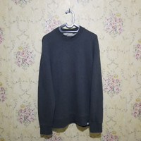 crewneck sweater unisex abu abu second