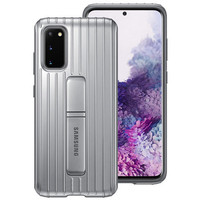 Samsung Galaxy S20+ Protective Standing Cover Silver Original