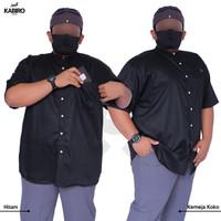 KABIRO KEMKO - Baju Kemeja Lengan Pendek Pria - Big Size