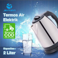 Teko Listrik / Pemanas Air / Kettle Elektric Kapasitas 2.0L