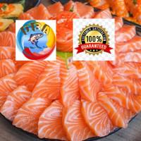 salmon sashimi grade fresh trout norwegian portion 1 kg