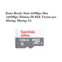SanDisk Ultra microSDXC Card 128GB 80Mbps UHS-I Class 10 Micro SD