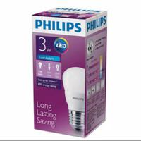 Lampu led bulb philips 3 watt E27 lampu bohlam led putih 3w 3 w 6500 k