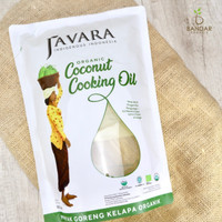 Javara - Minyak Goreng Kelapa Organik 1800ml / Coconut Cooking Oil