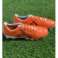 Sepatu bola Ortuseight original Raptor FG orange new 2020