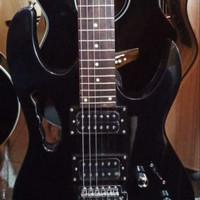 Gitar Elektrik Ibanez Black