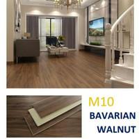 Lantai SPC vinyl klik flooring merk Marvel , anti air anti rayap