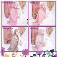 Jilbab Pashmina Karina - Jilbab Murah by Friana Katalog 1 - Dusty Purple