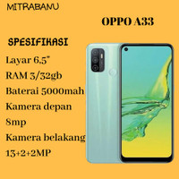 oppo a33 3/32gb - mint cream
