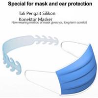Pengait Masker bahan Karet Silikon Lentur Medis Safety Mask Alat Hijab