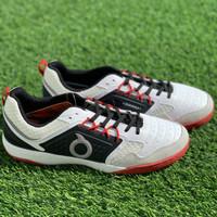 Sepatu futsal Ortuseight original JOGOSALA PENUMBRA white black ortred