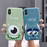 Huawei P7 P8 P9 P10 P20 P30 Lite Pro Plus Sulley Mike Case