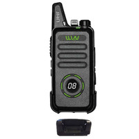 WLN KD-C1 Plus HT UHF Hitam Garansi Layar CH Handie Talkie WLAN KDC1
