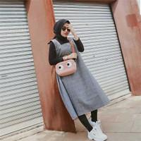 Baju Dress Outerwear Wanita Muslimah Murah Terbaru Adora Fashion AF2