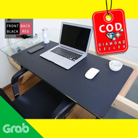 Office Mouse Pad XL Desk Mat Bahan Kulit 40 x 80cm - A47780