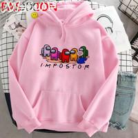 Sweater Anak Perempuan Among Us Impostor Usia 6 - 10 tahun
