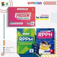 """Buku Panduan Guru PAUD & TK """"Paket RPPH RPPM PROSEM """" Kurikulum 13 - TK B"""
