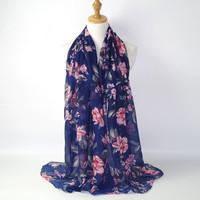 pashmina motif bunga import