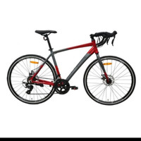 Sepeda Balap Road Bike Element FRC 38 Gen 2 8Sp Grey Red Free Helm RMB