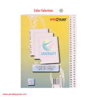 Divider A4 Pembatas Binder Ordner 1-31 Index isi 31 Tabs Plastik