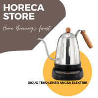 Teko leher Angsa Diguo 700ml Electric Gooseneck Kettle