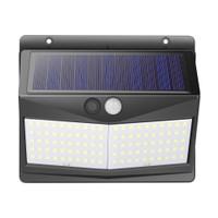 lampu led kuning warm white PIR solar power otomatis sensor cahaya dim