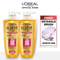 L'Oreal Paris Hair Care Extraordinary Oil Shampoo 450ml Twinpack