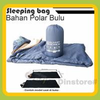 Sleeping bag polar bulu / sb bulu murah / sb bulu