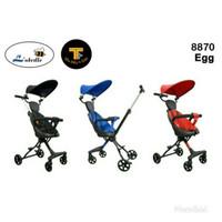 New Stroller Labeille 8870 EGG / Kereta Dorong Bayi Labeile Murah