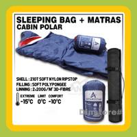 PAKET HEMAT - sleeping bag cabin polar Plus matras camping
