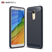 Case Carbon Xiomi Redmi 5 Plus Softcase Fast Focus Silicon Case Casing