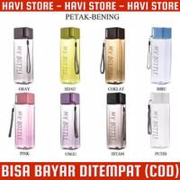 My Bottle Colour Persegi 500ML - Botol Minum Kotak Persegi 500ML