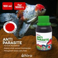 Obat Ikan Anti Kutu, Jamur, Protozoa | Hira Anti Parasite 100 ml - 100 ml