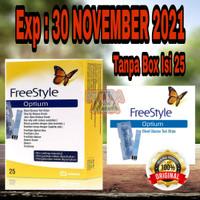 Freestyle Optium 25 / Strip Gula Darah Freestyle Optium 25 TANPA BOX